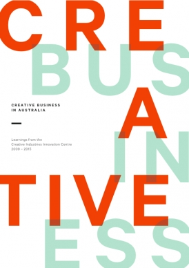 Creative Business in Australia book cover